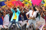 Prabhu Deva and Sonakshi Sinha shake a leg on Go Govinda Song in OMG Oh My God! Movie Stills