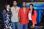 Prachi Desai, Abhishek Bachchan, Ajay Devgn, Asin on the sets of 'Taarak Mehta Ka Ooltah Chashmah' Promote Bol Bachchan Movie