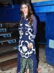 Prachi Desai on the sets of 'Taarak Mehta Ka Ooltah Chashmah' Promote Bol Bachchan Movie