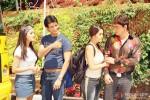 Raima Sen, Sharman Joshi and Riya Sen in 3 Bachelors Movie Stills