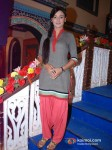 Rati Pandey on the sets of Hitler Didi To Promote Maximum Movie