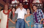 Rituraj Singh, Rati Pandey, Sonu Sood, Sheeba Chaddha, Sumit Vats on the sets of Hitler Didi To Promote Maximum Movie