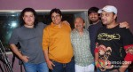 Sajid Khan, Vashu Bhagnani, Sameer, Wajid, Sajid at the song recording of Himmatwala