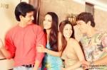 Sharman Joshi, Raima Sen and Riya Sen in 3 Bachelors Movie Stills
