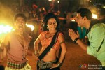 Shreyas Talpade, Chitrangada Singh and Akshay Kumar in the item song from Joker Movie Stills