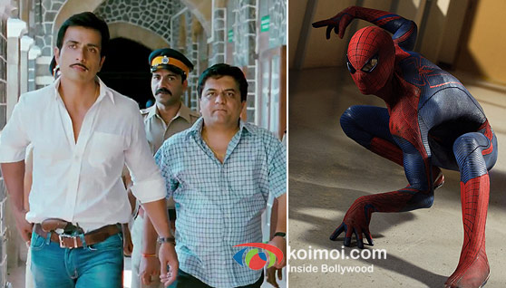 Sonu Sood in Maximum and The Amazing Spider-Man Movie