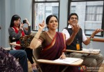 Sridevi answering a question in her english class English Vinglish Movie Stills