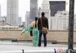 Sridevi in a completely new city in English Vinglish Movie Stills