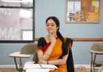 Sridevi in yet another cute pose from English Vinglish Movie Stills