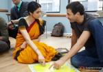 Sridevi learning English in English Vinglish Movie Stills