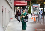 Sridevi plays the Indian woman settling abroad in English Vinglish Movie Stills?