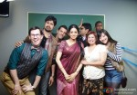 Sridevi with the rest of the cast for English Vinglish Movie Stills