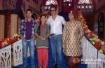 Sumit Vats, Rati Pandey, Sonu Sood, Sandeep Baswana on the sets of Hitler Didi To Promote Maximum Movie