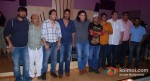 Wajid, Sameer, Mika Singh, Ajay Devgn, Sajid Khan, Sajid, Vashu Bhagnani, Siddharth Roy Kapur at the song recording of Himmatwala