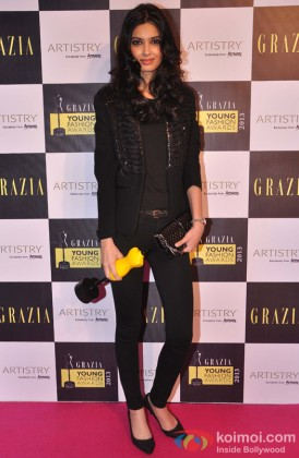 Diana Penty at the Grazia Young Fashion Awards 2013
