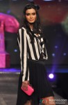 Diana Penty walks the ramp at Allure Fashion Show