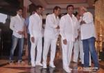 Abbas Burmawalla, Hussain Burmawalla, Mustan Burmawalla At Rajesh Khanna's Prayer Meet