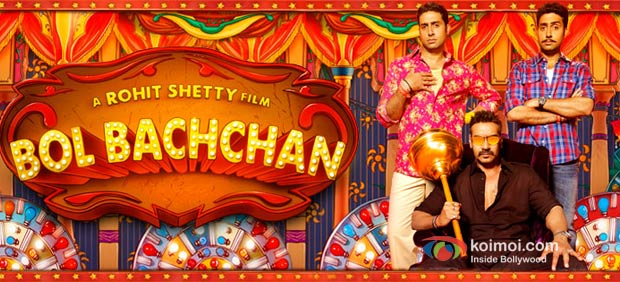 Abhishek Bachchan, Ajay Devgan In Bol Bachchan Movie