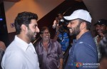 Abhishek Bachchan and Rohit Shetty meets fans on Bol Bachchan Movie Screening