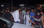 Abhishek Bachchan meets fans on Bol Bachchan Movie Screening