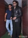 Abhishek Bachchan's Bol Bachchan Movie Screening For John Abraham