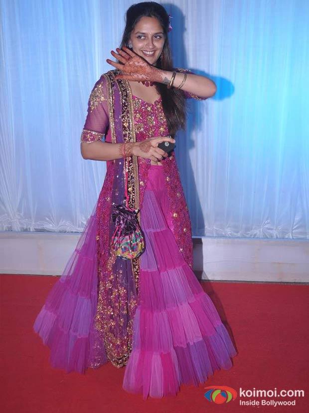 Ahana Deol At Esha Deol Wedding Reception Koimoi