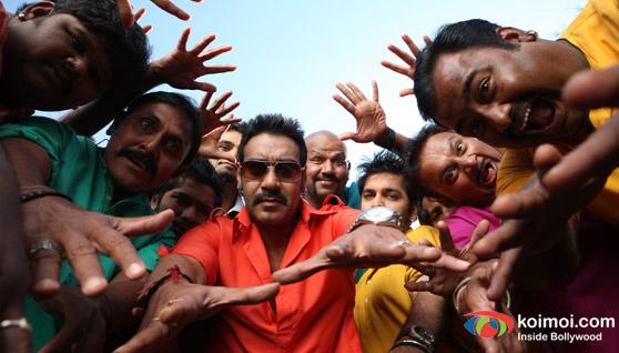 Ajay Devgan In Bol Bachchan Movie