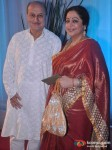 Anupam Kher, Kirron Kher At Esha Deol Wedding Reception