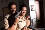 Arjun Rampal and Esha Gupta playing with guns? in Chakravyuh Movie Stills