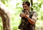 Arjun Rampal in action in Chakravyuh Movie Stills