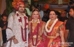 Bharat Takhtani, Hema Malini At Esha Deol's Wedding Ceremony