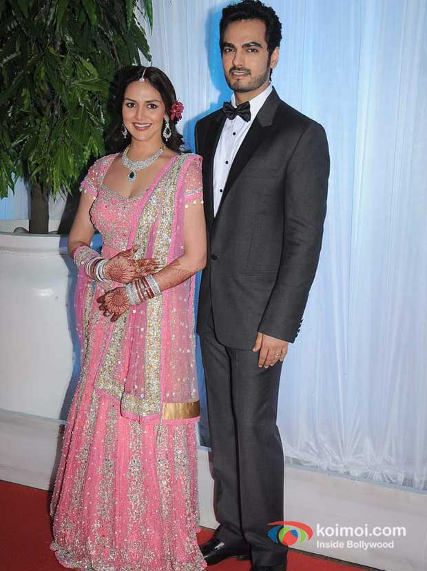 Esha Deol And Bharat Takhtani Wedding Reception Koimoi