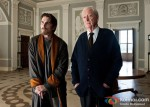 Christian Bale and Michael Caine In The Dark Knight Rises Movie Stills