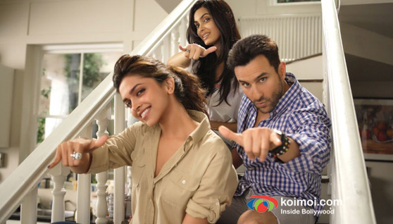 Deepika Padukone, Saif Ali Khan, Diana Penty in Cocktail Movie