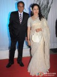 Dharmendra, Hema Malini At Esha Deol Wedding Reception