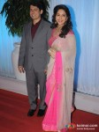 Dr. Shriram Nene, Madhuri Dixit At Esha Deol Wedding Reception
