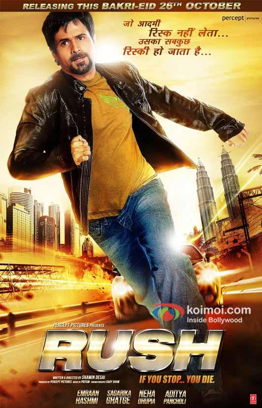Emraan Hashmi in Rush Movie