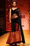 Esha Gupta walks the ramp at Wills Lifestyle India Fashion Week 2013