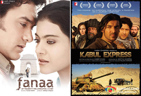 Fanaa, Kabul Express Movie Posters
