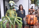 Farah Khan Promote Joker Movie With Aliens