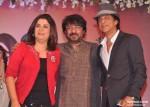 Farah Khan, Sanjay Leela Bhansali, Shah Rukh Khan At Shirin Farhad Ki Toh Nikal Padi Movie Music Launch