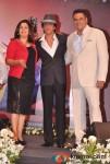 Farah Khan, Shah Rukh Khan, Boman Irani At Shirin Farhad Ki Toh Nikal Padi Movie Music Launch