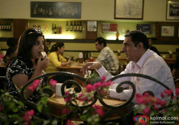 Farah Khan and Boman Irani on a dinner date in Shirin Farhad Ki Toh Nikal Padi Movie Stills
