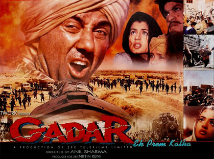 Gadar Ek Prem Katha Movie Poster