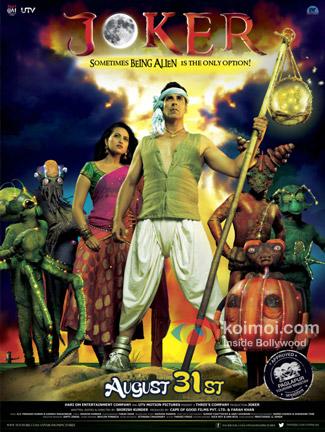Akshay Kumar in Joker Movie Poster