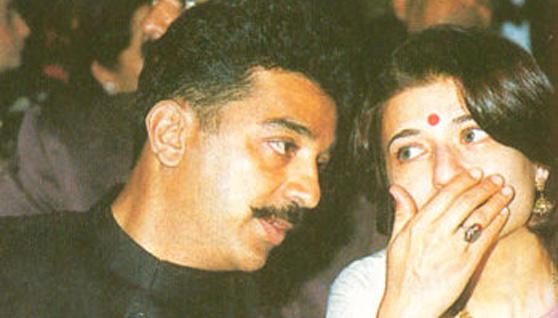 Kamal Hassan and Sarika