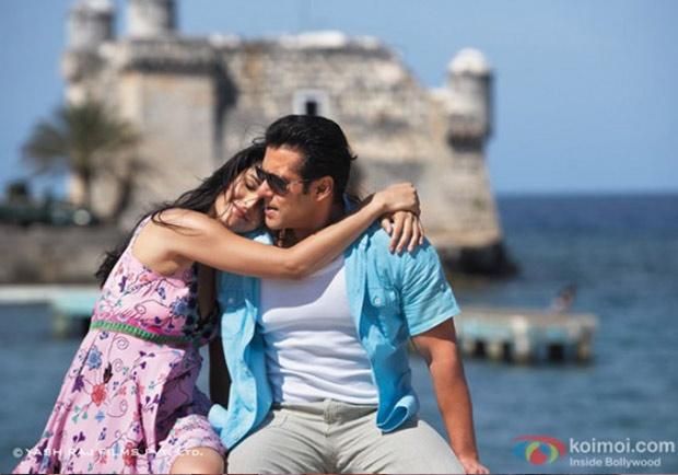 Katrina Kaif, Salman Khan In Ek Tha Tiger Movie Stills