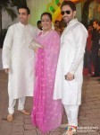 Kush Sinha, Poonam Sinha, Luv Sinha At Esha Deol's Wedding Ceremony