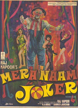 Mera Naam Joker Movie Poster