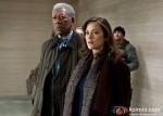 Morgan Freeman and Marion Cotillard In The Dark Knight Rises Movie Stills